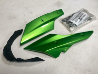 BELLY PAN KIT COSMIC GREEN STREET TRIPLE / R FROM VIN 560477