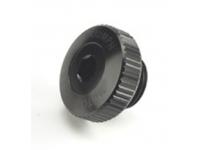 Machined Oil Filler Cap - Blac BLACK