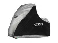 Oxford Aquatex MP3 / 3 Wheeler Waterproof Motorcycle Cover Black and Silver