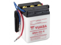 6N4-2A-4 YUASA MOTORCYCLE BATT THIS BATTERY IS IDEAL FOR OL 6V MOTORCYCLES